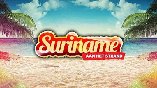 Suriname aan het Strand (flyer)