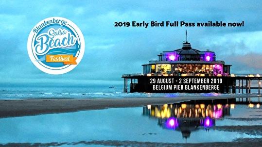 Blankenberge Salsa Beach Festival (flyer)