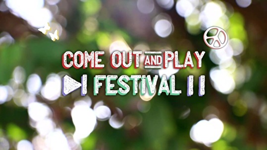 flyer Come Out & Play Festival
