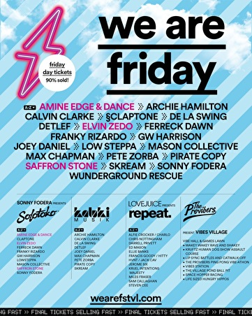 We Are FSTVL (flyer)