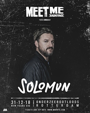 Meet Me Backstage (flyer)