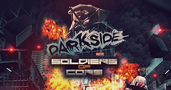 Darkside Meets Soldiers of Core (flyer)
