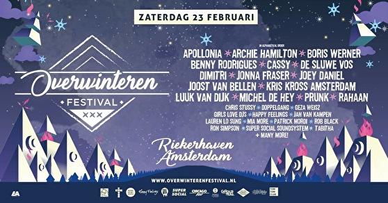flyer Overwinteren Festival