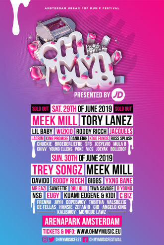 Oh My! Music Festival (flyer)