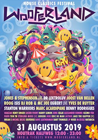 flyer Wooferland Festival