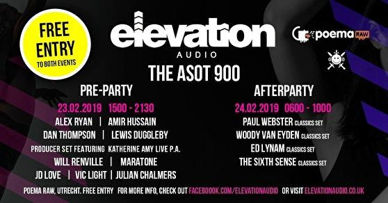 flyer ASOT900 Pre-Party