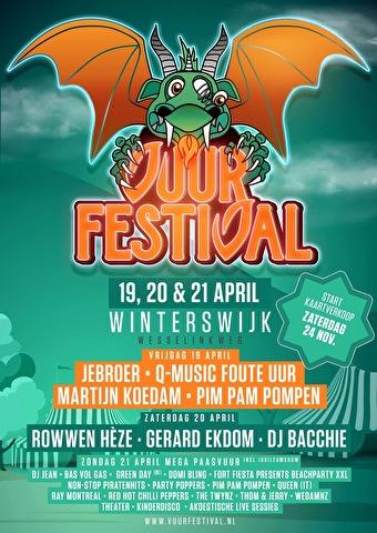 flyer Vuur Festival