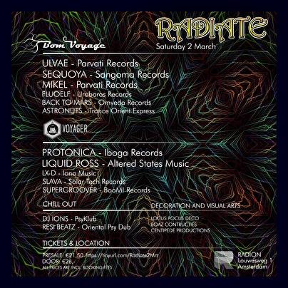 Radiate (flyer)