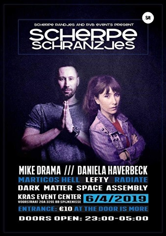Scherpe Schranzjes (flyer)