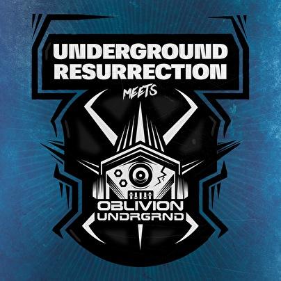 Underground Resurrection Meets Oblivion Underground (flyer)