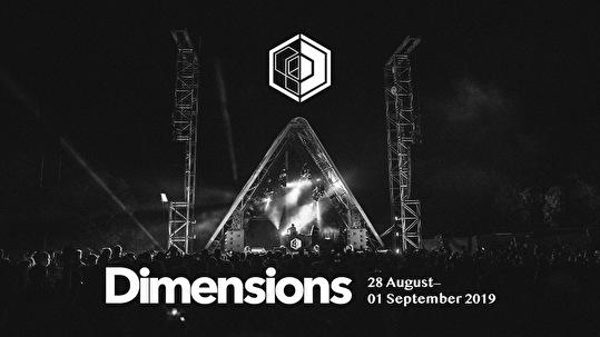 flyer Dimensions Festival