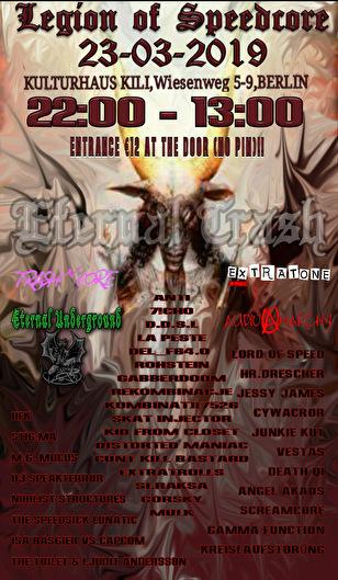 flyer Legion of Speedcore