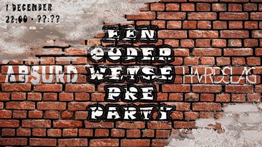 Een Ouderwetse Preparty (flyer)