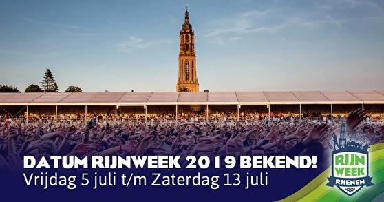 flyer Rijnweek