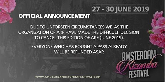 flyer Amsterdam Kizomba Festival
