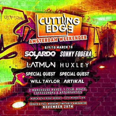 Cutting Edge Weekender Afterparty (flyer)