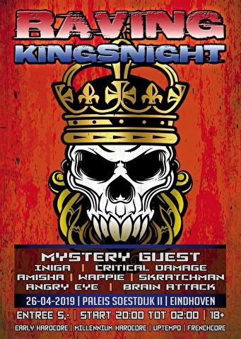 Raving Kingsnight (flyer)