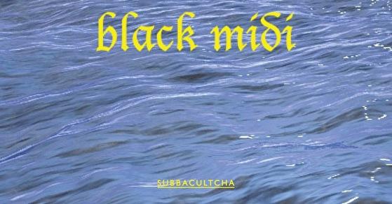 Black Midi at s105 (flyer)