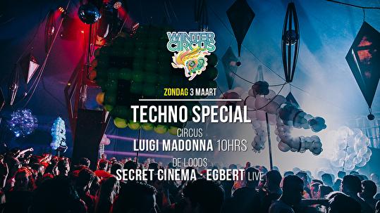 Thuishaven Techno Special (flyer)