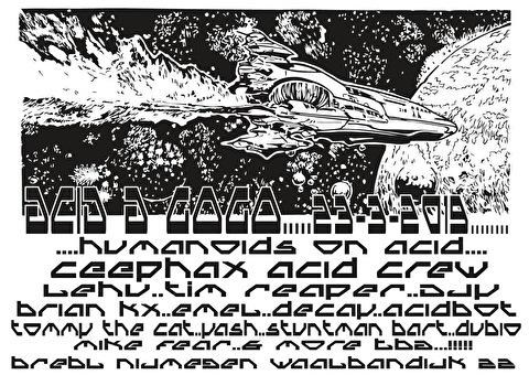 Acid A GoGo (flyer)