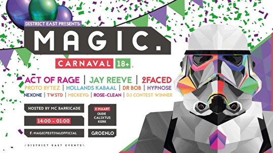flyer MAGIC. Carnaval