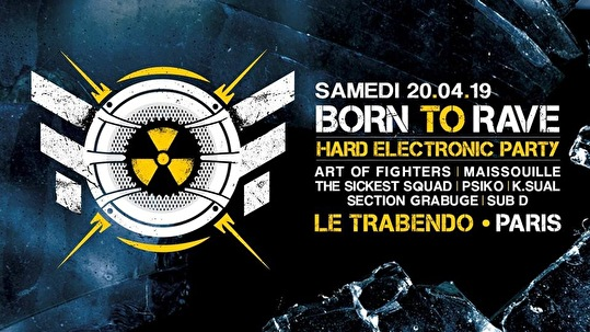 Born to Rave (flyer)