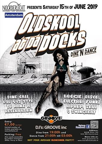 Oldskool at Tha Docks (flyer)