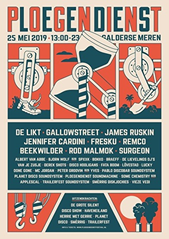 Ploegendienst Festival (flyer)