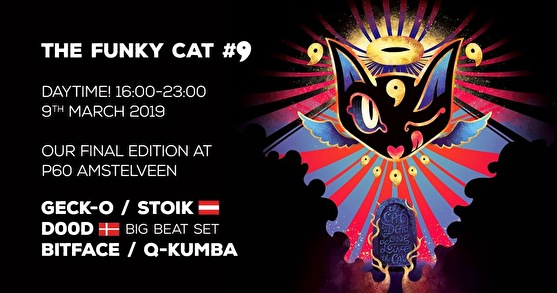 The Funky Cat (flyer)