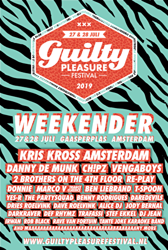 Guilty Pleasure Festival Weekender (flyer)