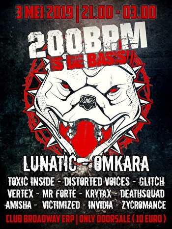 200 BPM Is De Basis (flyer)