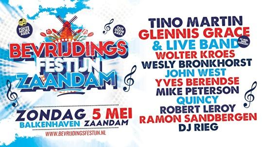 Bevrijdingsfestijn Zaandam (flyer)