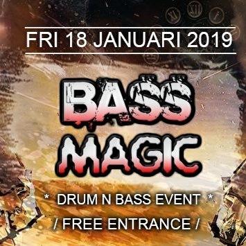 Bass Magic 18 January 2019 Magistrat Den Haag Event