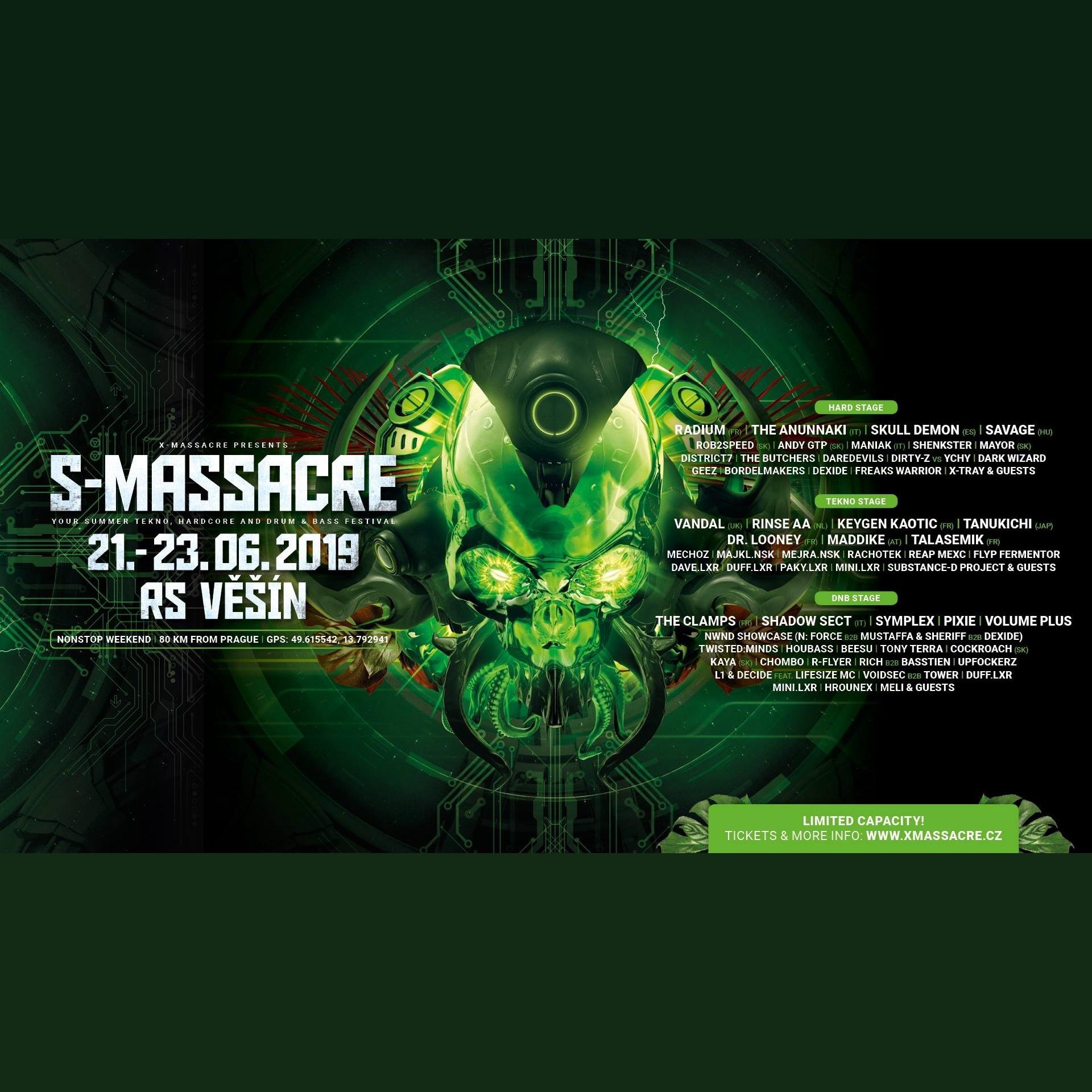 S-Massacre 2019 - Tickets, line-up & info