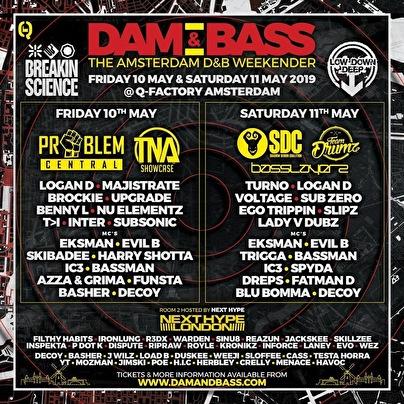Dam & Bass (flyer)