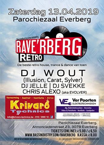 Rave'rberg Retro (flyer)