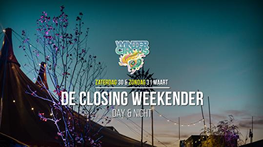 De Closing Weekender (flyer)