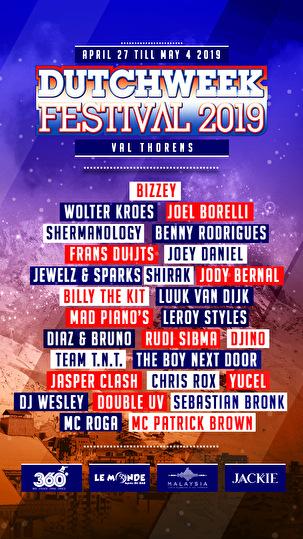 Dutchweek Festival (flyer)