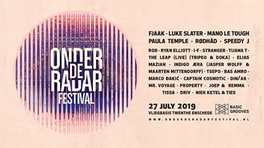 Onder De Radar Festival (flyer)