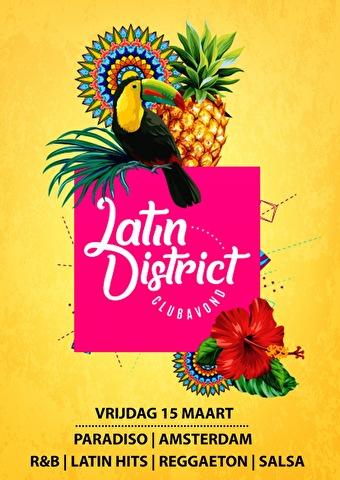 Latin District (flyer)