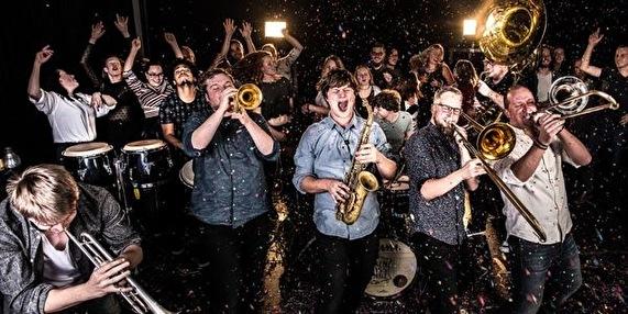 flyer Broken Brass Ensemble
