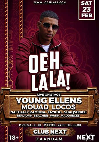 Oeh la la (flyer)