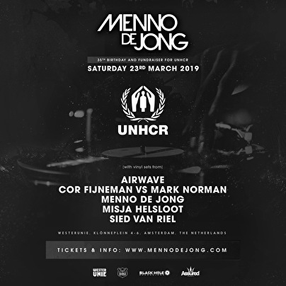 Menno de Jong 35th Birthday (flyer)