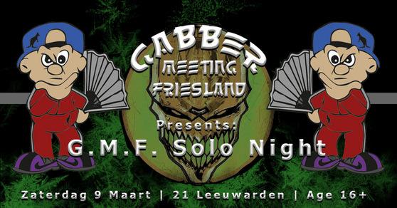 Gabber Meeting Friesland (flyer)