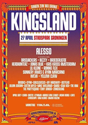 flyer Kingsland Festival