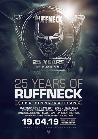 25 Years Of Ruffneck (flyer)