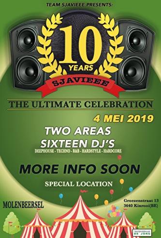 Sjavieee 10 Years (flyer)