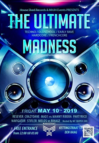 The Ultimate Madness (flyer)
