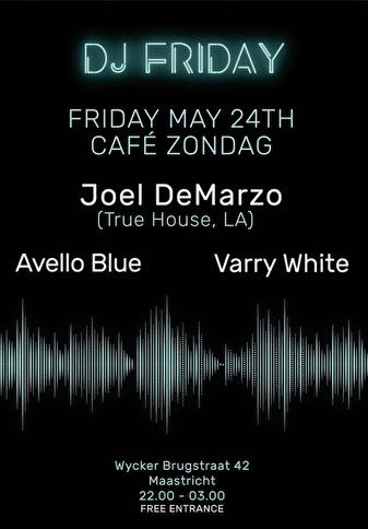flyer DJ Friday