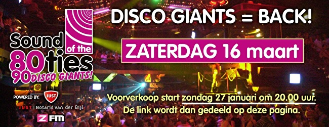 flyer Disco Giants